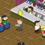 Пиксельный ресторан