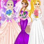 Ледяной свадебный стиль