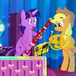 Пони дают рок концерт