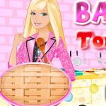 Барби готовит томатный пирог