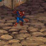 Человек паук в пещере