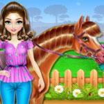 Ухаживаем за лошадьми