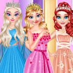 Принцессы готовятся к банкету