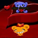 Счастливая обезьянка: Сердца