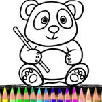 Раскраска панды
