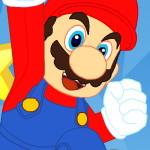 Марио играет в тетрис
