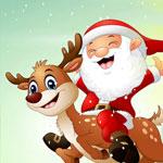 Санта Клаус: собери картинку