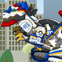 Тираннозавр полицейский
