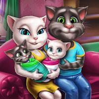 Семья Анжелы и Тома