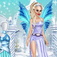 Зимний макияж для феи