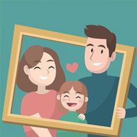 Пазл семья
