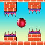 Летающий красный шарик