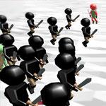 Симулятор битвы человечков