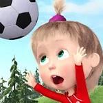 Футбол с Машей