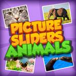 Слайдовый пазл с животными