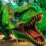 Пазл динозавр