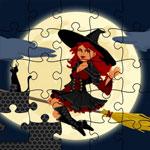 Пазл с ведьмами