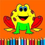 Раскраска лягушки