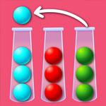 Сортировка шариков по цвету